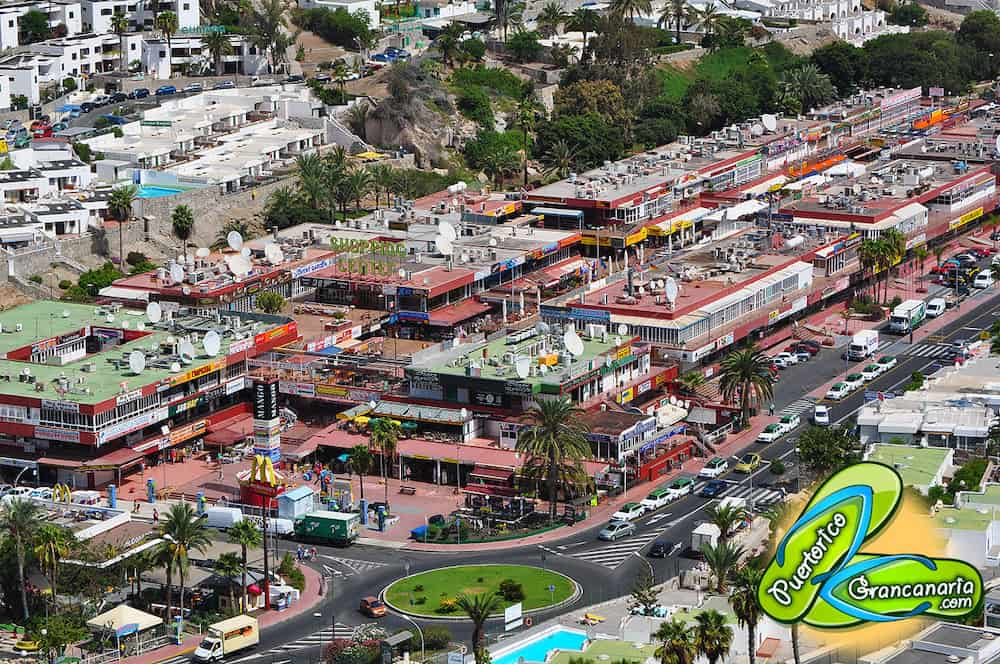 Shopping Center Puerto Rico Gran Canaria