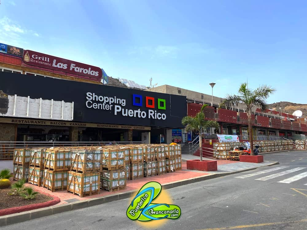 Shopping Center Puerto Rico August 2020