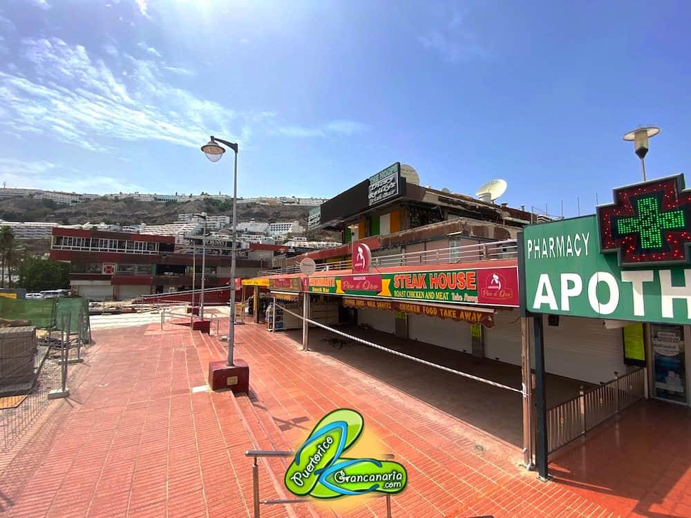 Shopping Center Puerto Rico August 2020 | Pico de Oro Restaurant Sabidan